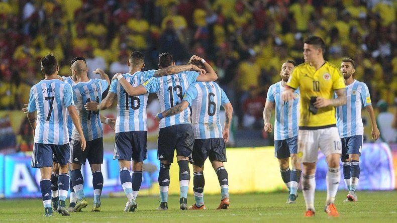 Partido Argentina - Colombia