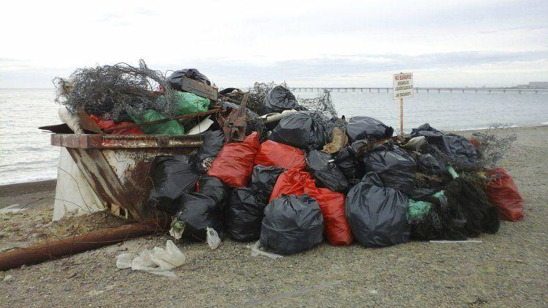 La jornada de limpieza Cuidemos nuestro tipo de mar