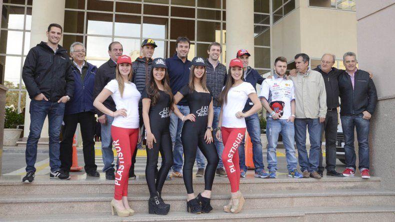 La presentación se realizó ayer y ya se palpita el rugir de los motores en Comodoro Rivadavia.