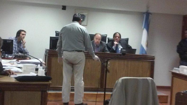 El perito en Criminalística Alberto Enhes brindó uno de los principales testimonios de ayer.