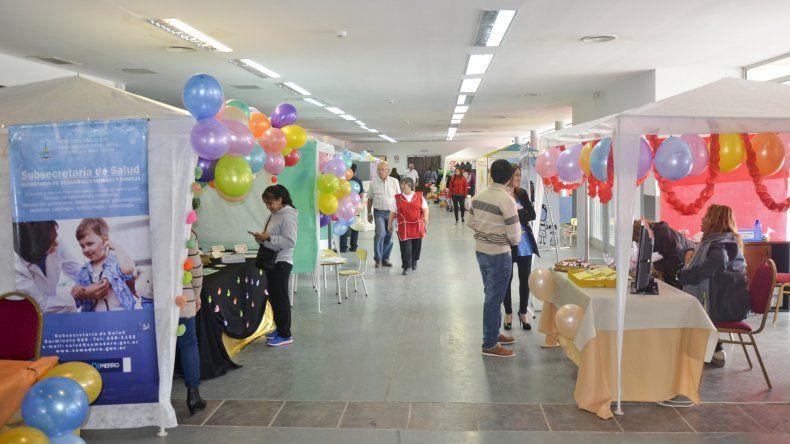 La muestra de la Secretaría de Desarrollo Humano permite a los ciudadanos conocer el trabajo que las diferentes áreas desarrollan a lo largo del año.