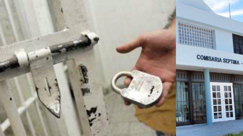Rompieron con sus manos la reja de la celda para intentar escapar de la comisaría