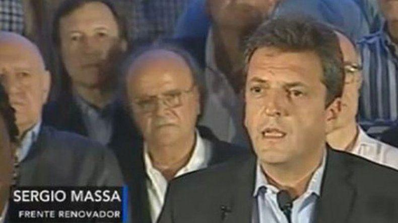Massa: es muy importante que la Argentina se encamine en el cambio