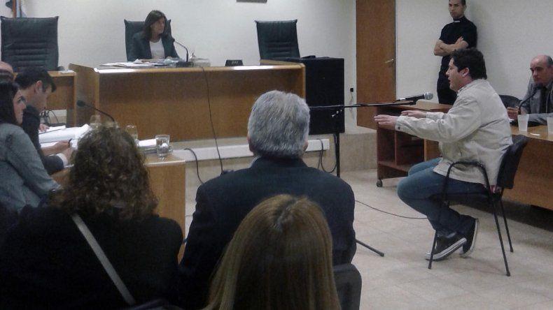 Gonzalo Sebastián Velásquez obtuvo permiso para salir a trabajar y cuando la Fiscalía corrobore los datos que aportó en su descargo