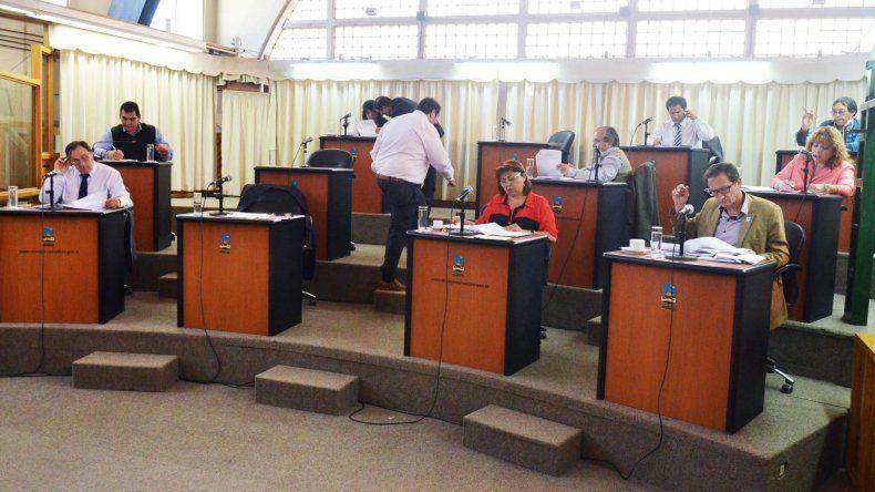 En la sesión de ayer también se dio tratamiento a la primera lectura de la Ordenanza Tributaria Anual.