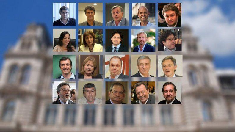 El Gabinete de Mauricio Macri. Foto: MinutoUno.com.