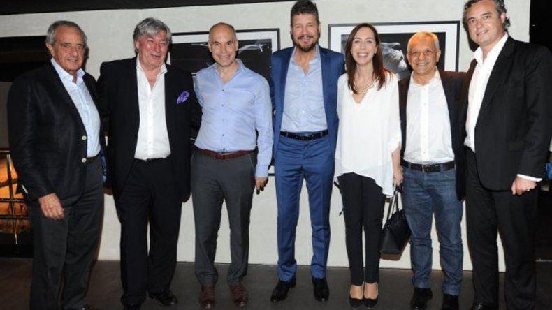 Tinelli se reunió con Larreta y Vidal para debatir sobre la violencia en el fútbol