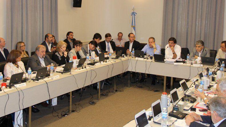 La reunión que mantuvieron el miércoles los ministros de Educación de las provincias con los responsables de Nación.