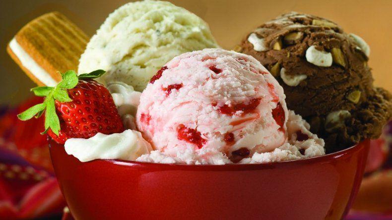 ¿Cuántas calorías tiene un cuarto de helado?