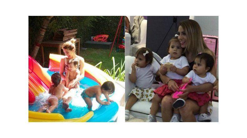 La ex niñera de Cinthia Fernández la prendió fuego
