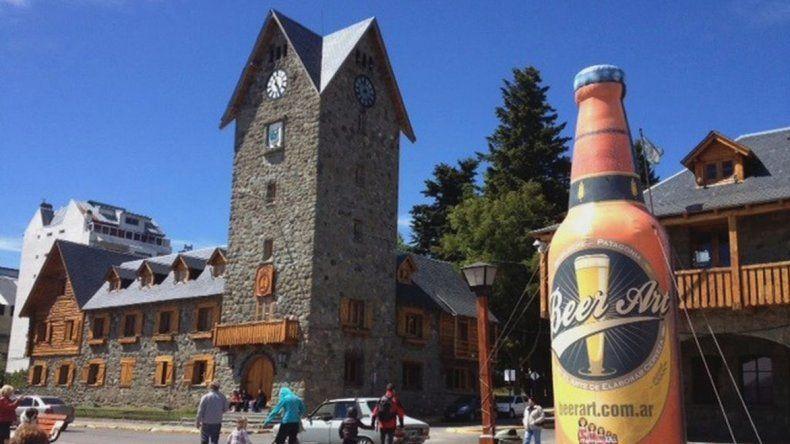 Este año se celebra la cuarta edición de la fiesta del Beer Art en Bariloche.