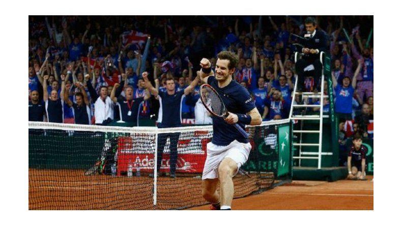 Gran Bretaña ganó la Copa Davis luego de 79 años