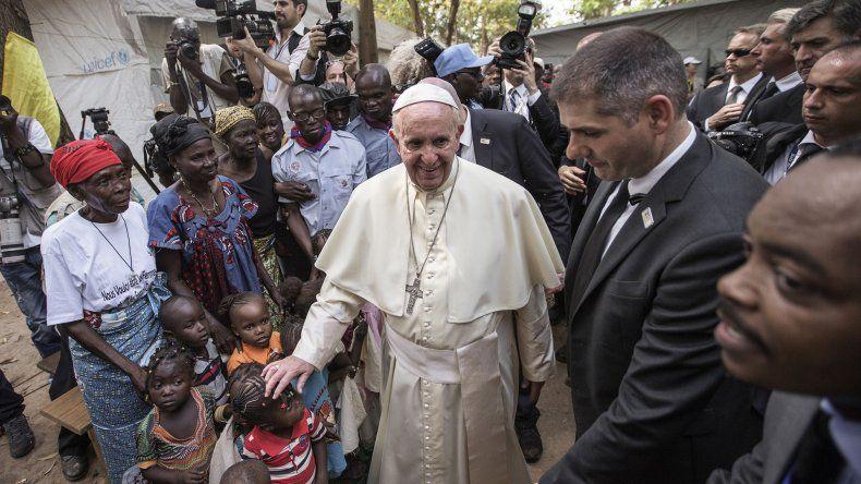 Bangui fue la última escala del viaje africano del Papa