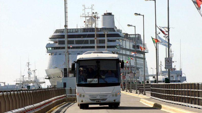 Ya hay 40 arribos programados. El 2 de diciembre está previsto el amarre de dos cruceros con alrededor de dos mil pasajeros.
