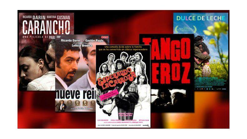 ¿Cuáles son las 5 películas más vistas de Odeon?