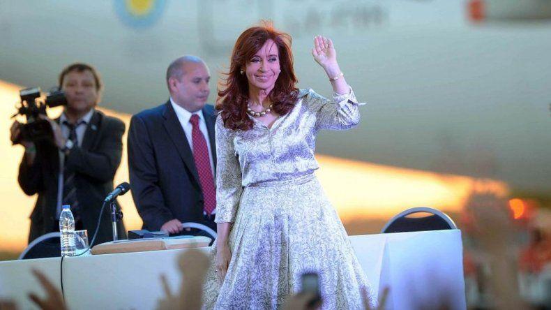 Cristina Kirchner realiza un acto en Bariloche