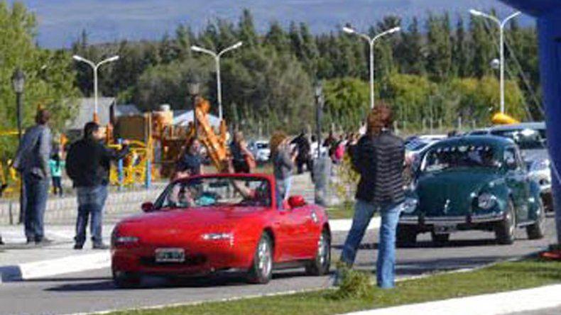 El recorrido de 220 km arrancó en Las Heras con gran cantidad de participantes.
