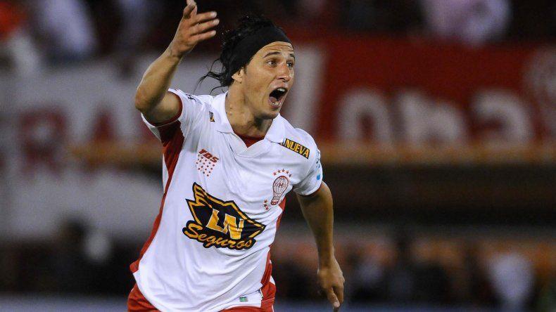 Patricio Toranzo viene de marcarle un gol a River en las semifinales de la Copa Sudamericana.