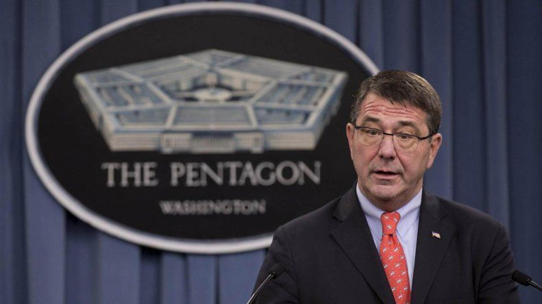 El líder del Pentágono brindó detalles de las nuevas medidas militares de EE.UU.