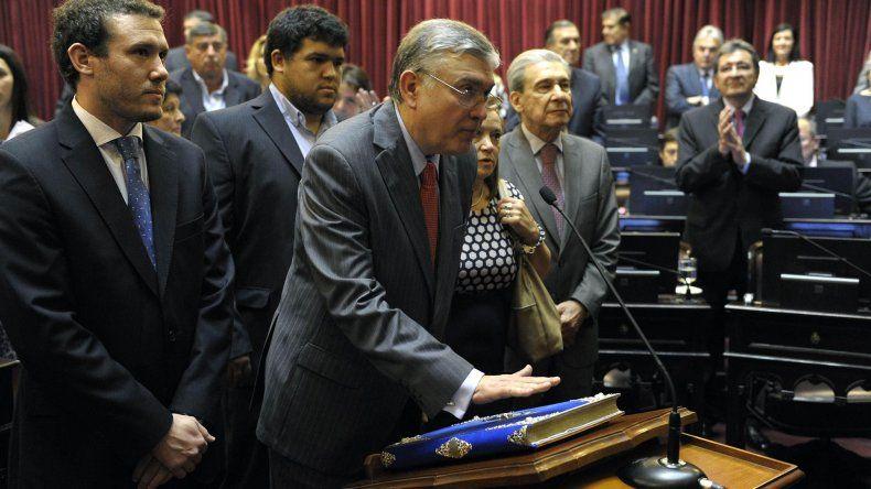 El actual diputado nacional por Chubut