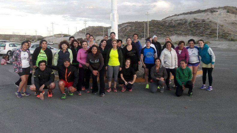 En Bariloche, los runners tienen su primer encuentro Indalo Corre