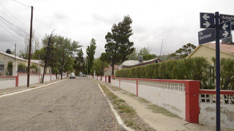 El sector de Kilómetro 3 donde ayer se produjo el robo.
