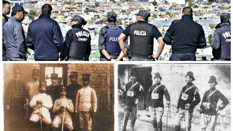 La policía del Chubut celebra  58 años de historia