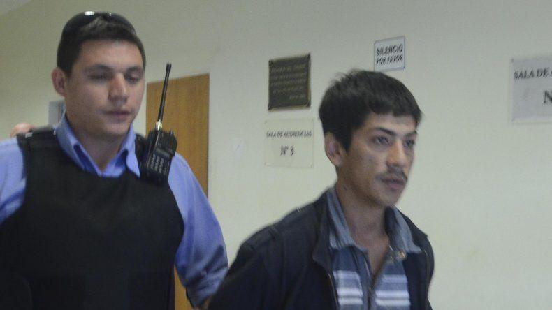 Rodrigo Soto (foto) fue imputado –junto con Diego Serrano– por el homicidio de Anahí Copa y les dictaron dos meses de prisión preventiva.