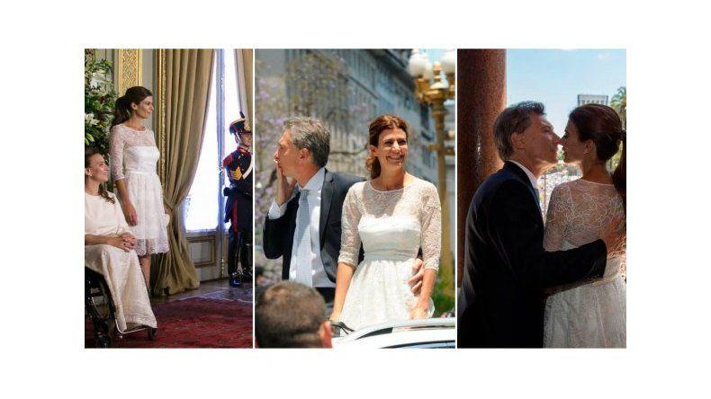 Los looks de Juliana Awada en la asunción de Mauricio Macri