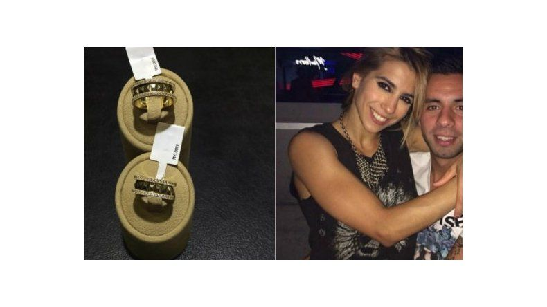 Mirá los lujosos anillos que Matías le compró a Cinthia Fernández