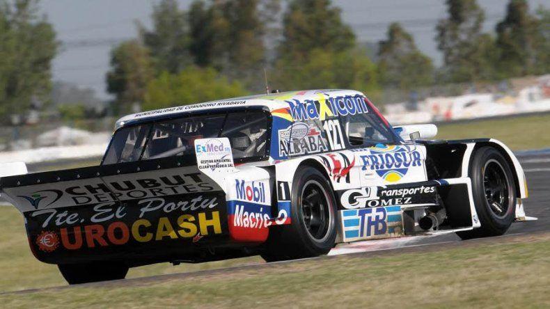 Marcelo Agrelo se ubicó octavo durante la segunda batería del TC Pista ayer en el autódromo de La Plata.