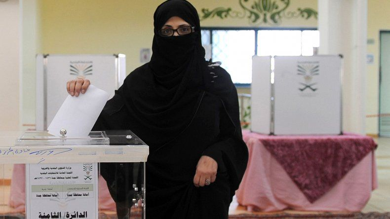 Las mujeres pudieron votar por primera vez en Arabia Saudita