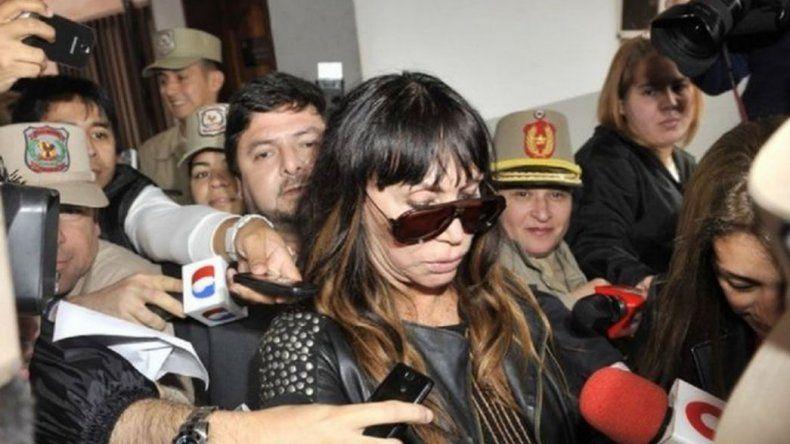 Detuvieron a Moria Casán en Paraguay por la joya robada