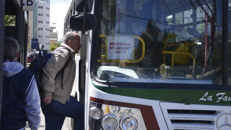 El servicio de transporte funciona con recorridos alternados