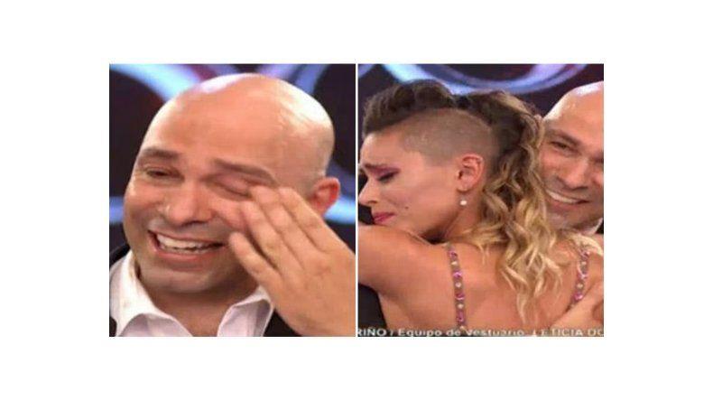 Lágrimas y aplausos para despedir a Freddy Villarreal tras perder contra Ailén Bechara