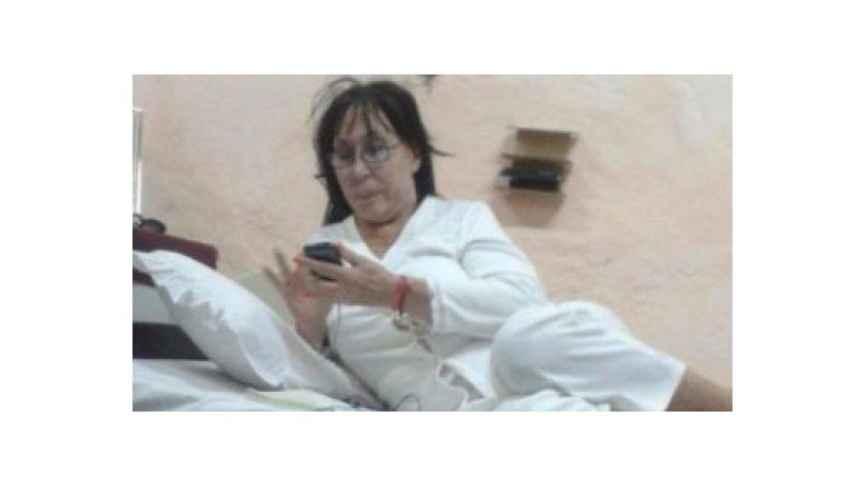 Así está Moria Casán presa en Paraguay