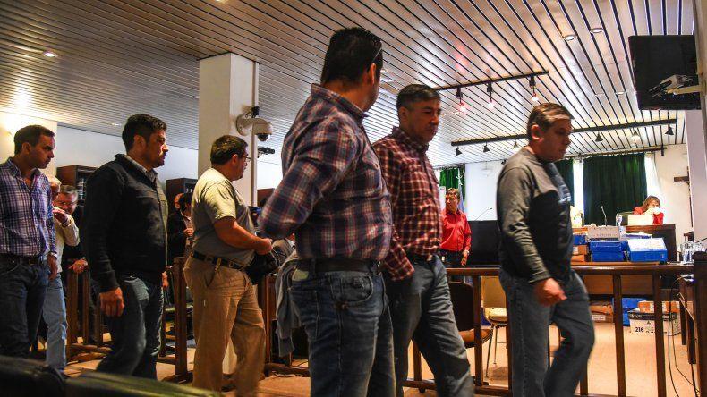 Juicio por la desaparición de Iván Torres. Foto: Mauricio Macretti / El Patagónico