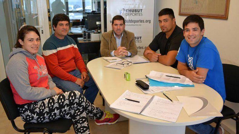 Luchadores de la provincia visitaron Chubut Deportes