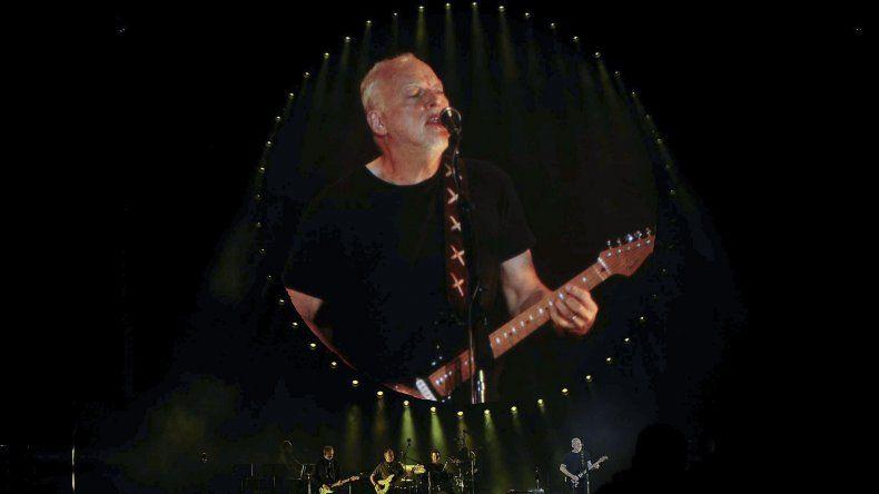 Recital de David Gilmour en el Hipódromo de San Isidro.