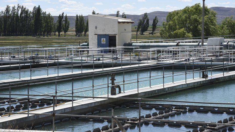 El acueducto Lago Musters que abastece a Comodoro Rivadavia