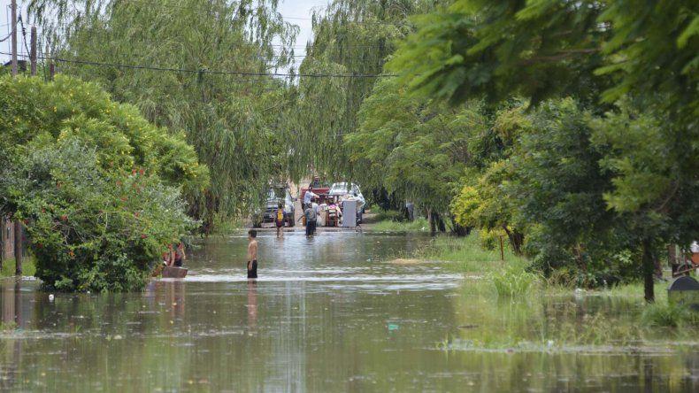 La crecida del río Paraguay en Formosa.