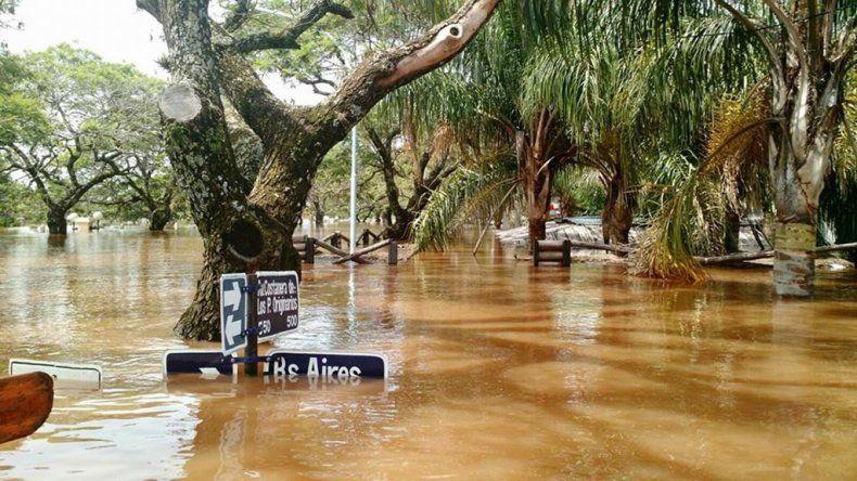 Se creó el Comité de Crisis por las inundaciones en el Litoral