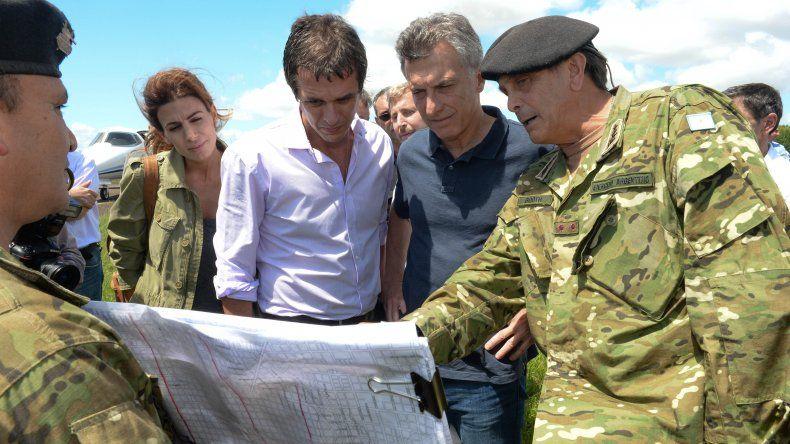 Macri se comprometió a dar soluciones definitivas