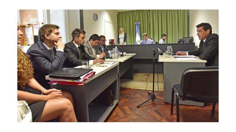 La audiencia celebrada el 22 de diciembre por la Justicia referente a la causa del préstamo a Alpesca. Foto: archivo.