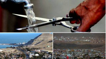 Corte de agua por 24 horas en Comodoro
