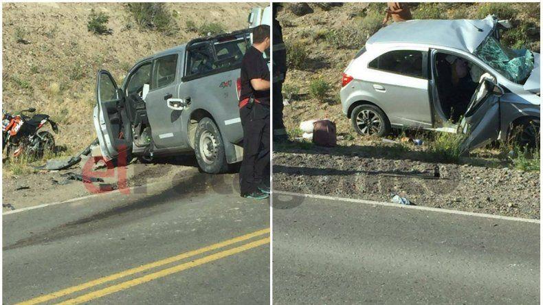Fatal accidente en cercanías de Ruta 3 y 26