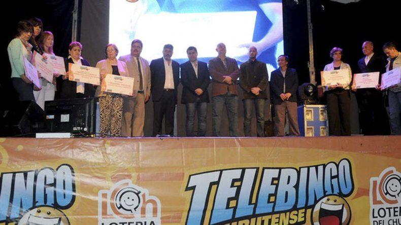 Los dos millones de pesos compartidos por vecinos de Trelew y Sarmiento