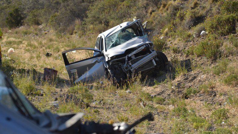 Tragico accidente en rutas 3 y 26. Foto: El Patagónico.