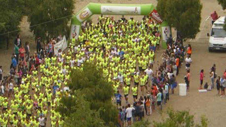 Más de 450 runners tomaron parte de la última prueba atlética del año que se corrió en Rada Tilly.