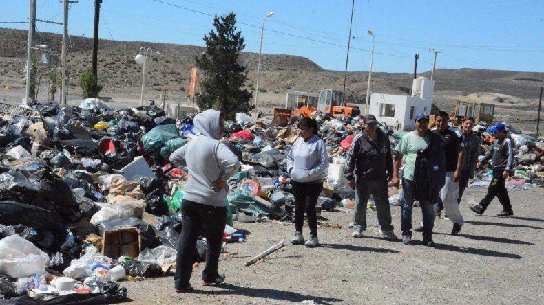 Trabajadores de Santa Cruz Sustentable denunciaron que los desechos que rodean el sector donde prestan servicios no son removidos y temen por su salud.
